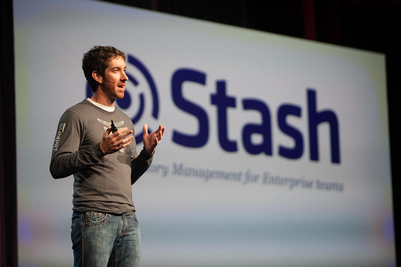 Scott-Farquhar-presenting-at-Atlassian-Summit