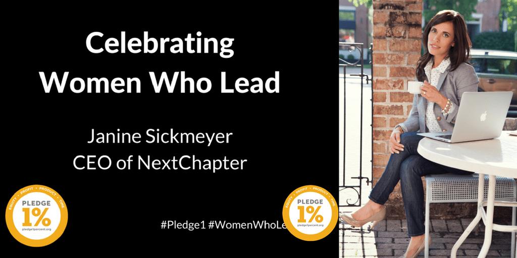 Janine Sickmeyer, CEO of NextChapter